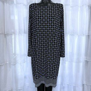 J. Jill Wearever Collection Print Dress